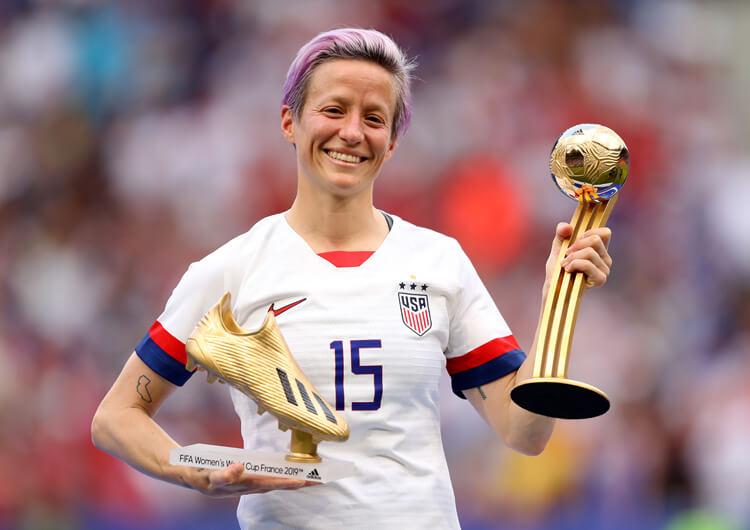 Megan Rapinoe: Mejor jugadora FIFA 2019