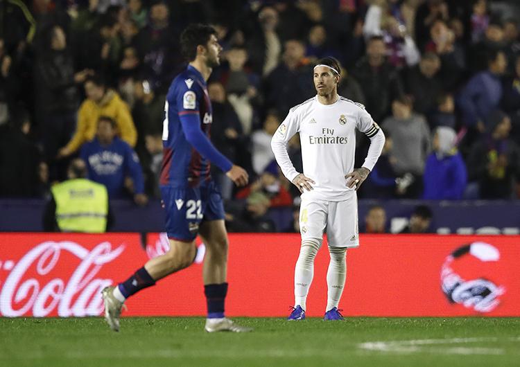 Análisis táctico: Levante 1 Real Madrid 0