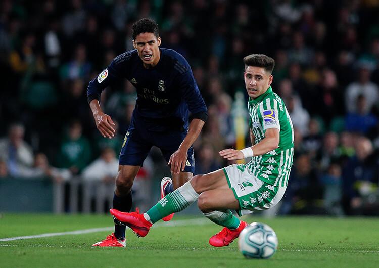 Análisis táctico: Real Betis 2 Real Madrid 1