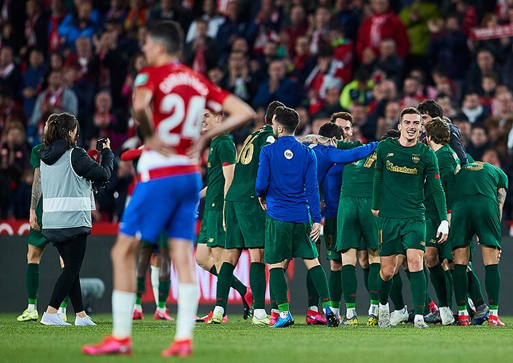 Análisis táctico: Granada 2 Athletic Club 1
