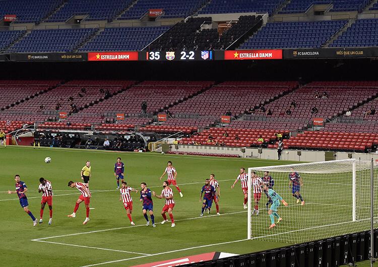 Análisis táctico: Barcelona 2 Atlético de Madrid 2