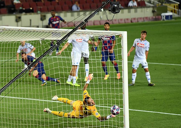 Análisis táctico: Barcelona 3 Napoli 1