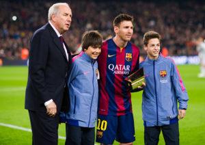 Messi, la mejor decisión de mi vida