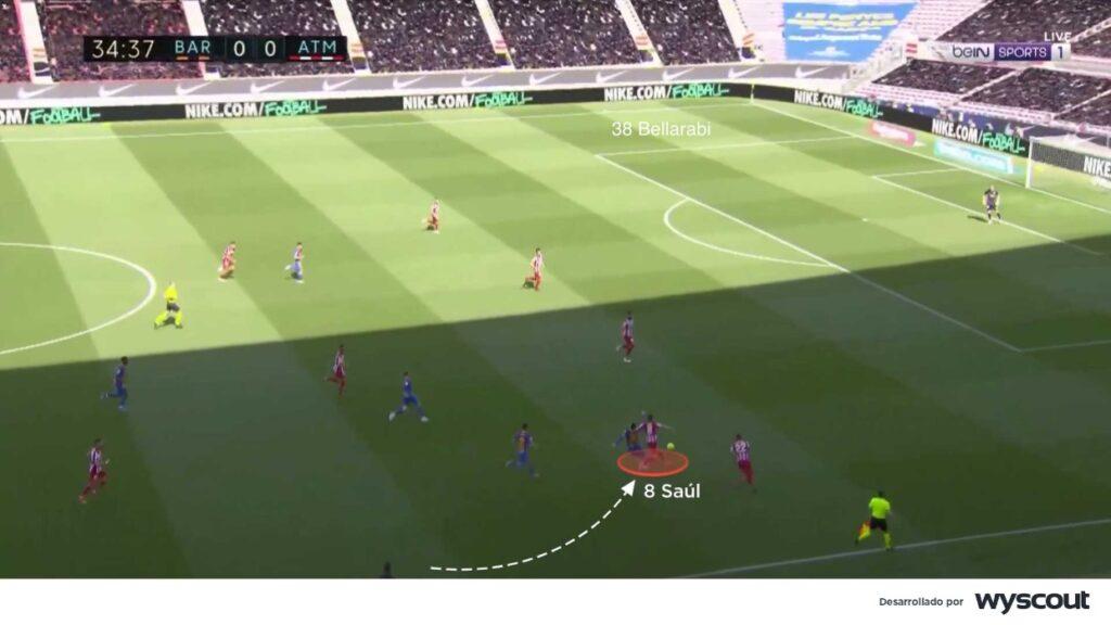 Saúl deberá adaptarse al modelo de presión del Chelsea de Thomas Tuchel.